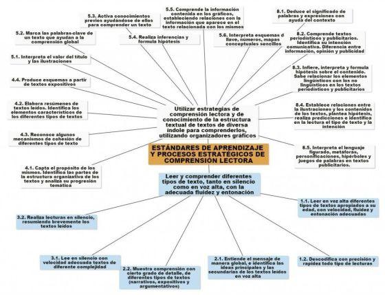 Estándares y procesos estratégicos de comprensión lectora