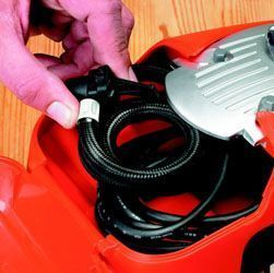 compresor de aire Black and Decker ASI300-QS - almacenamiento
