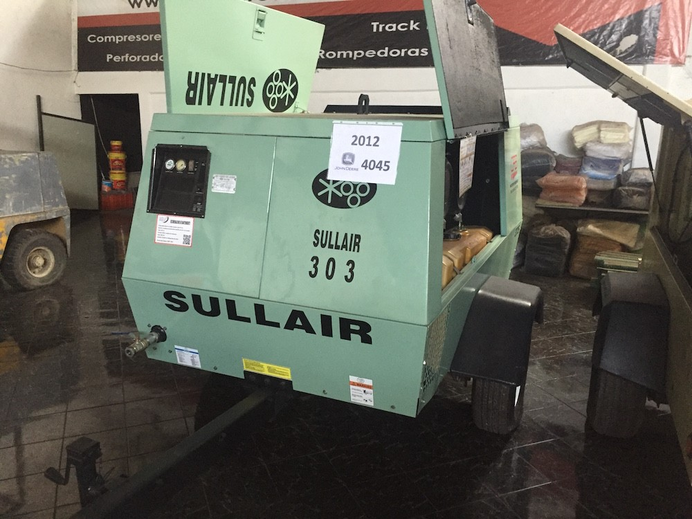Sullair compresores de 375pcm 1