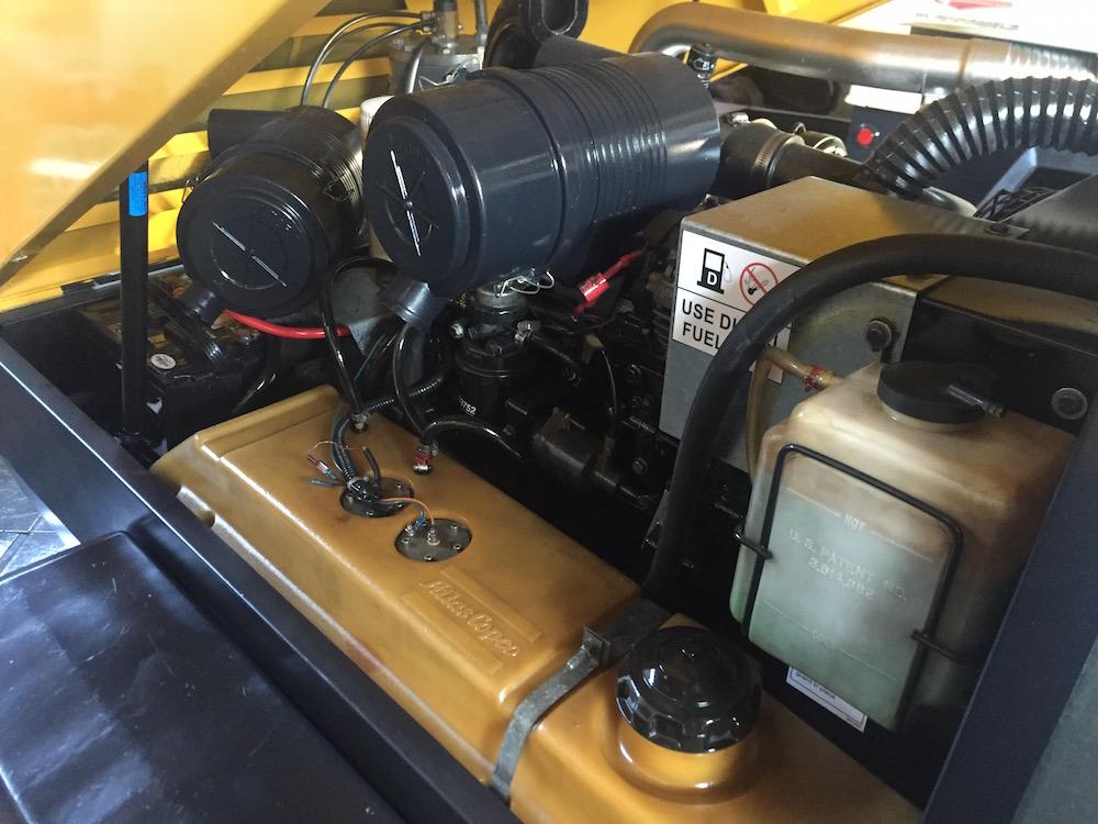 Compresores 185 pcm Atlas copco modelo XAS 97 5
