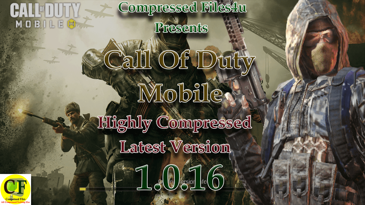Call of Duty Mobile Highly Compressed 1.0.16