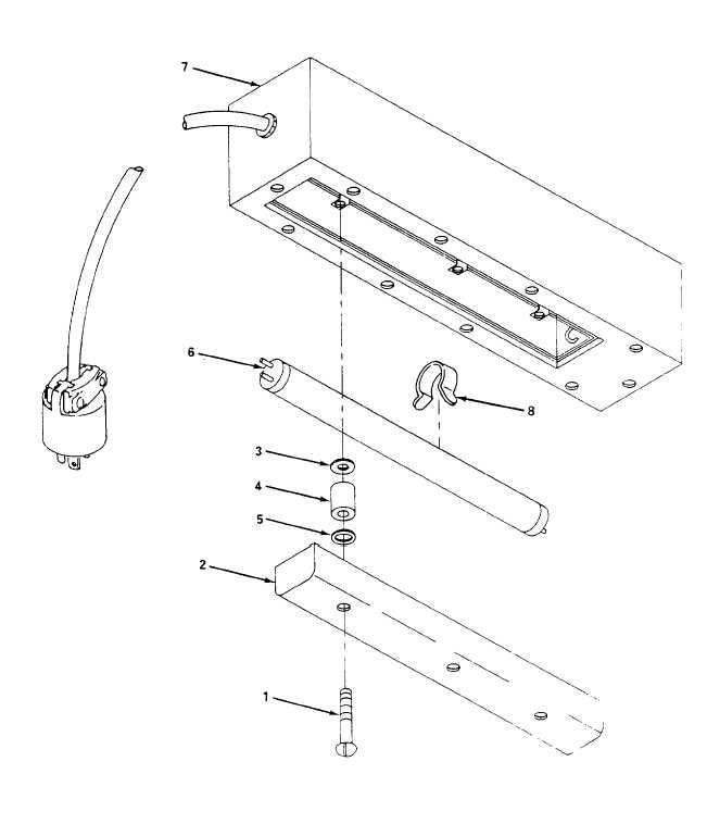 Figure 4-28. Fluorescent Light Assembly, Repair