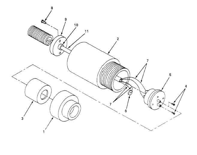Figure 5-15. Portable Oxygen Analyzer Probe Assembly, Repair