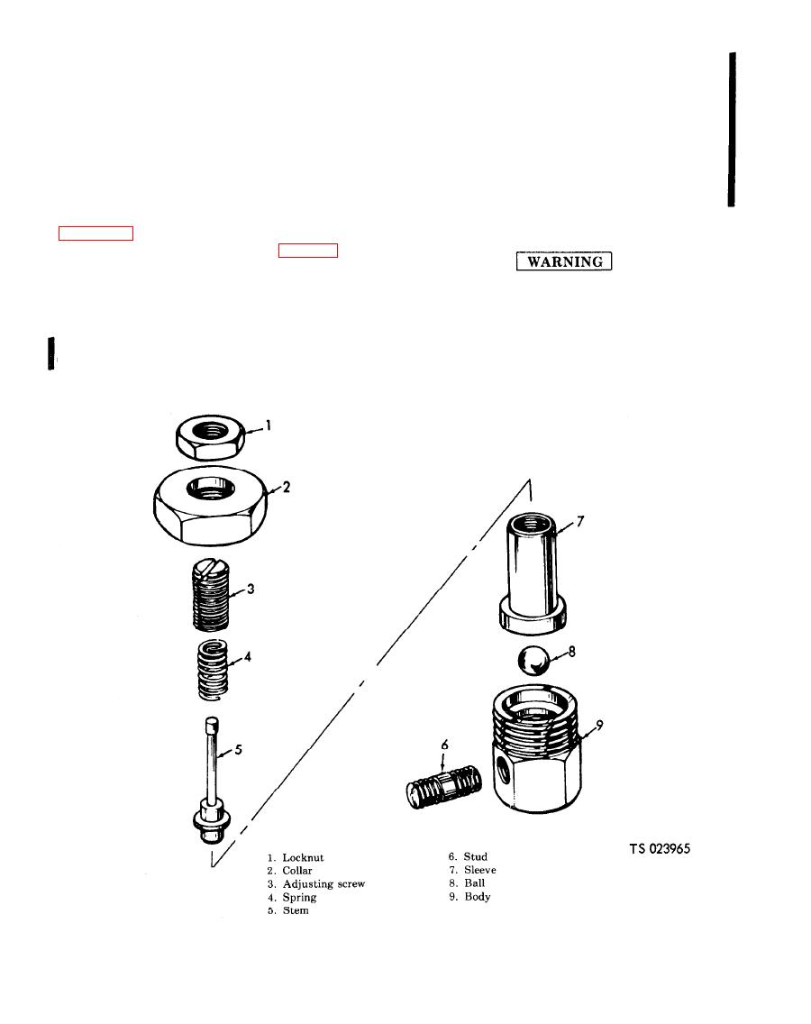 Figure 4-20. Pilot value, exploded view.