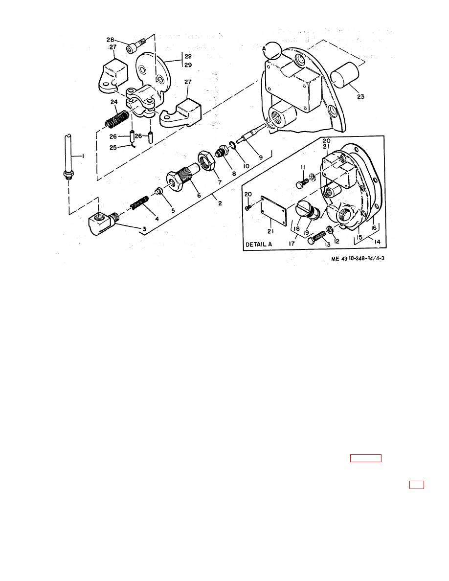 Figure 4-3. Pilot valve, removal and installation