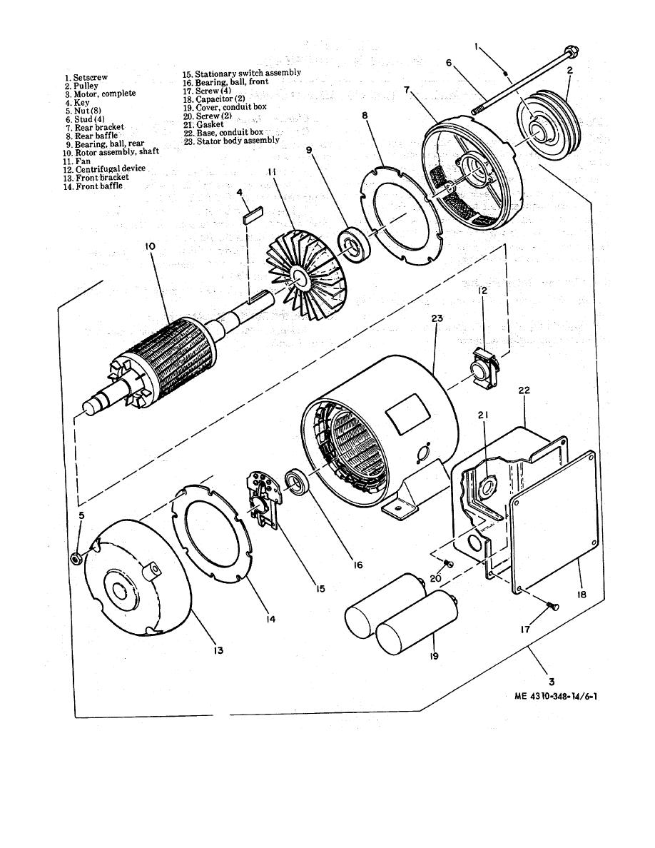 Motor Parts: Dayton Electric Motor Parts