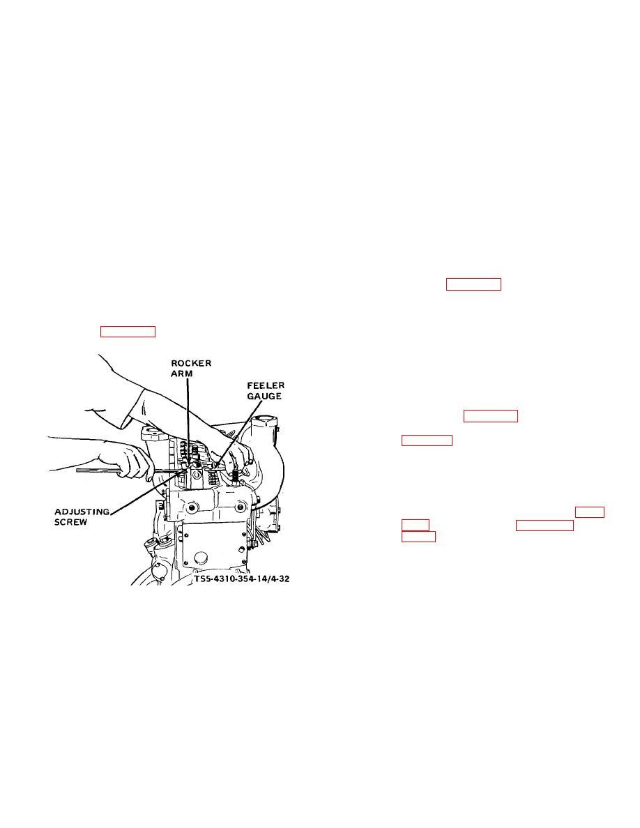 Section XVII. MAINTENANCE OF ENGINE ROCKER ARM GROUP