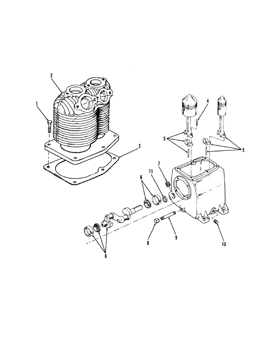 Figure 5-1. Compressor disassembly