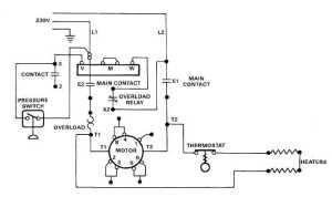 Electric Motor Controls Wiring Diagrams (115V)  TM54310