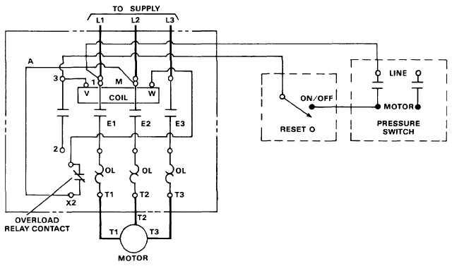 3 Phase Motor Starter Circuit