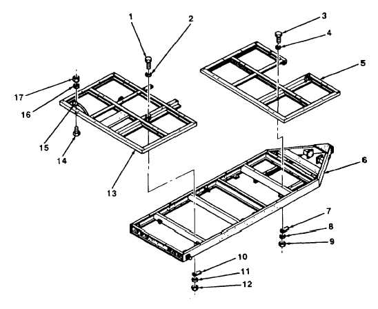 5-24. FRAME ASSEMBLY REPLACEMENT (Con't).