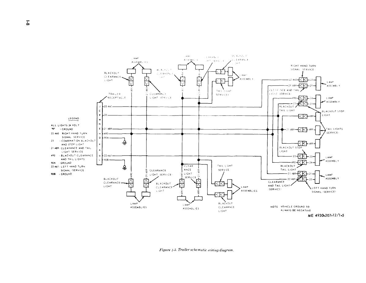 Figure 1 5 Trailer Schematic Wiring Diagram