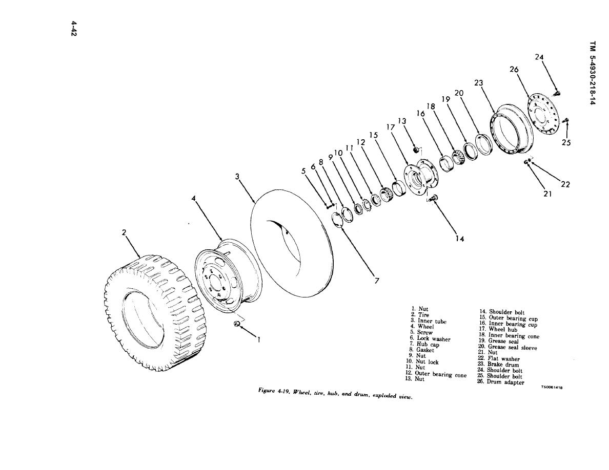hight resolution of tire diagram of drum