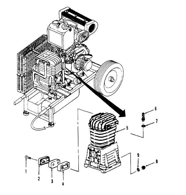 Figure 4-22. Filter Assembly, Oil Filler/Breather, and