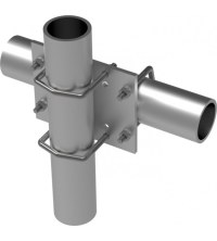 Comprod Inc. | 188-85 Parallel or 90 Pipe-to-Pipe Clamp