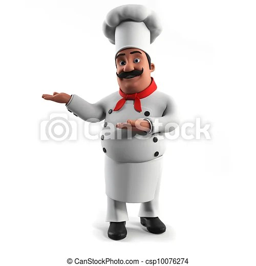 kitchen chief remodeling tampa a chef 3d rendered illustration of csp10076274
