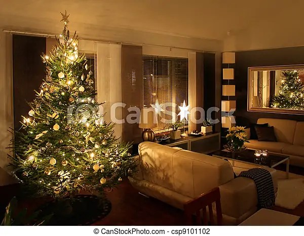 living room tree contemporary with electric fireplace christmas in modern home csp9101102