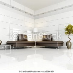 White Modern Living Room Interior Paint Color Schemes Contemporary Brown And Two Sofa In A Csp5686864