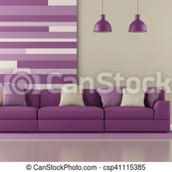 Purple Living Room Furniture Sofas Beautiful Curtains For Contemporary With Sofa And Decorative Panel On Csp41115385