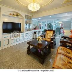 Chinese Living Room Interior Design My Elegant Oriental Classic Vintage Csp54642037