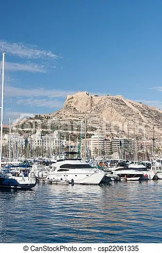 harbour of alicante spain