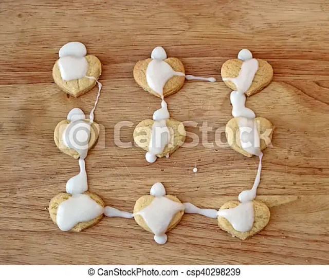 Homemade Cookies Top View Csp40298239