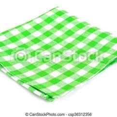 Kitchen Napkins Compact Design Serving Isolated On White Background Studio Photo Csp36312356
