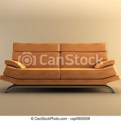 Modern Brown Leather Sofa Sets With Chairs Couch Csp0900008