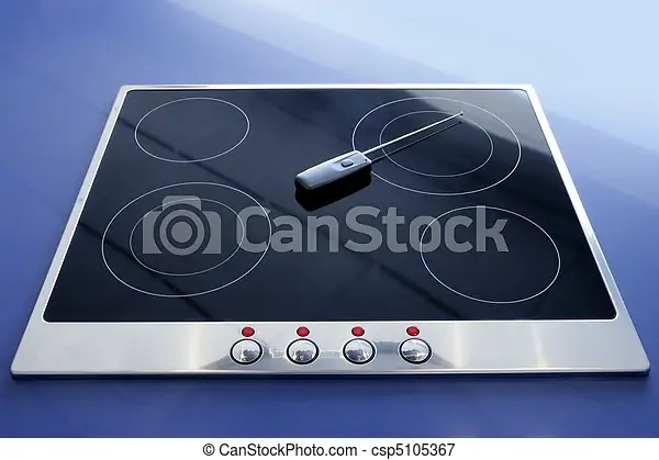 electric kitchen stove design layouts vitroceramic wireless csp5105367