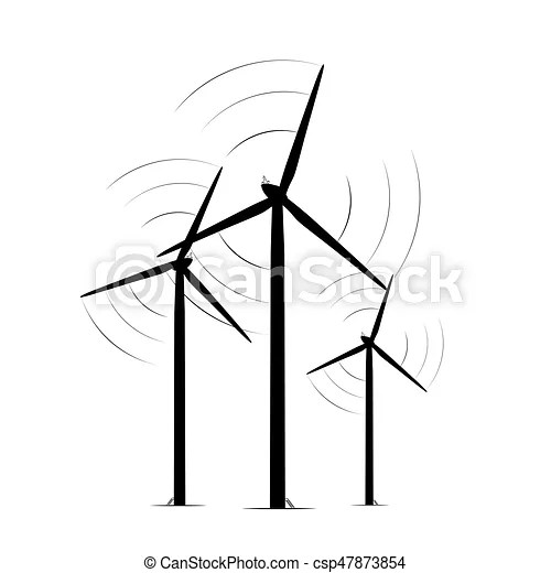 Onshore wind turbine towers renewable energy farm