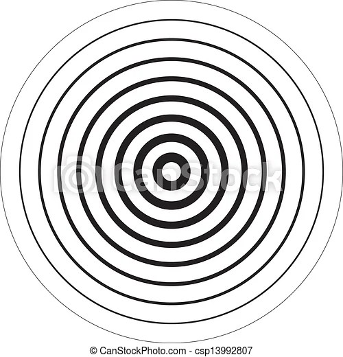 Círculos, concêntrico, sugestion, fundo, 3d.