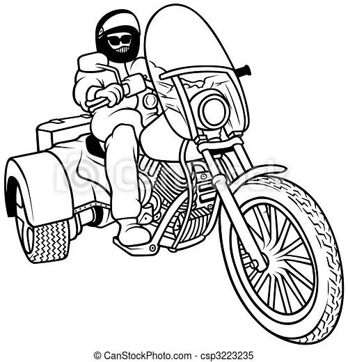 A Harley Davidson Motorcycle A BSA Motorcycle Wiring