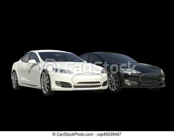 elétrico negócio carros modernos