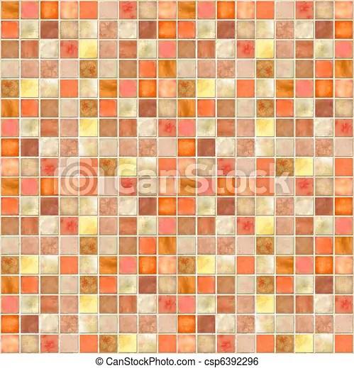 Laranja azulejo mosaico Laranja azulejo imagem