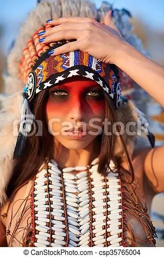 美麗, 美國印地安人, 女孩, 衣服. 美麗, 陽光普照, 美國人, indian., 衣服, 女孩, 天.
