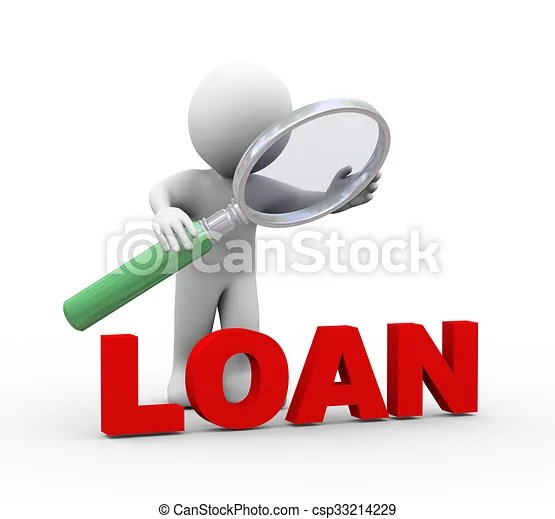 3d man word loan