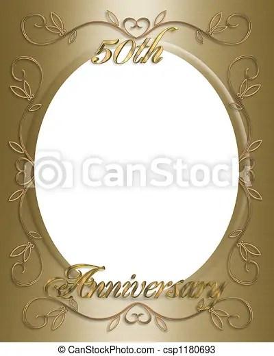 https www canstockphoto com 50th wedding invitation 1180693 html