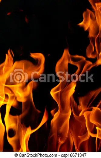 abstract flames of fire
