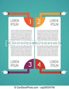 Abstract vector steps infographic template in flat style for layout workflow scheme numbered also rh canstockphoto