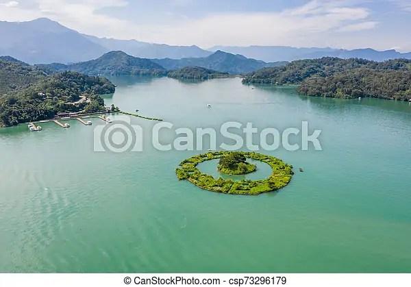 Aerial View Of Lalu Island