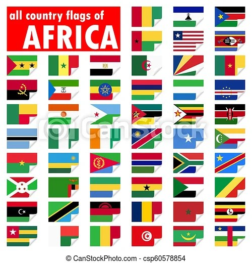 all country flags of