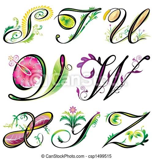 Alphabets Elements S Z Alphabets Elements Design Series S To Z