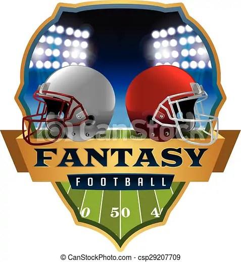 american fantasy football emblem