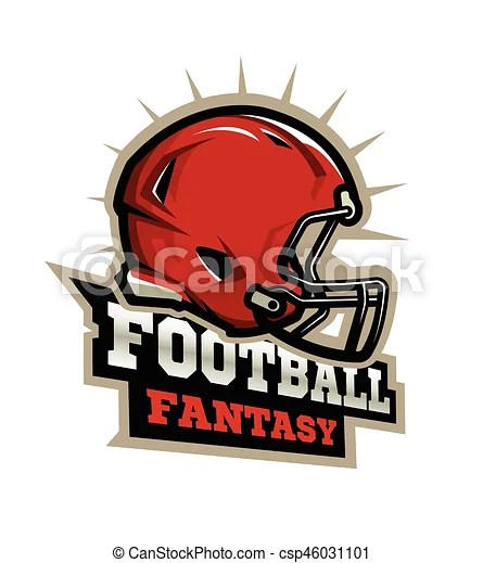 american football modern logo