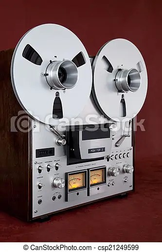 Analog stereo open reel tape deck recorder vintage Picture   csp21249599