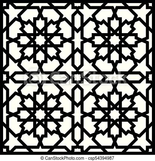 arabic geometric ornament
