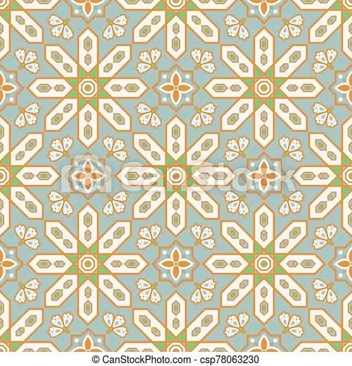 https www canstockphoto com arabic style tile seamless pattern 78063230 html