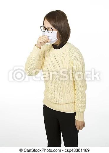 asian sick woman