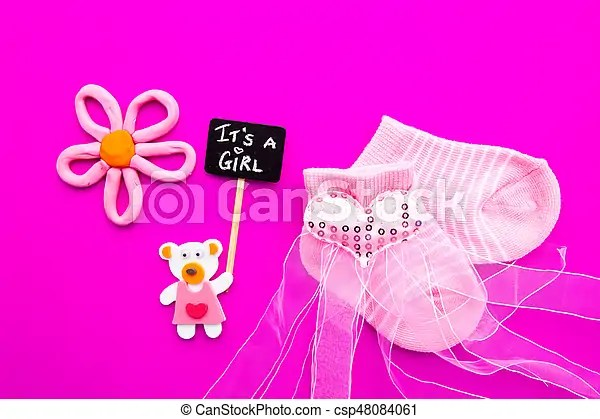 baby girl pink and