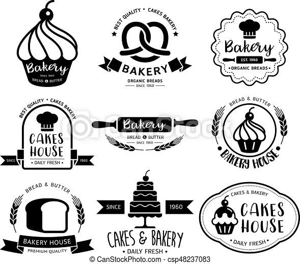 Bakery Shop Logovector Illustration